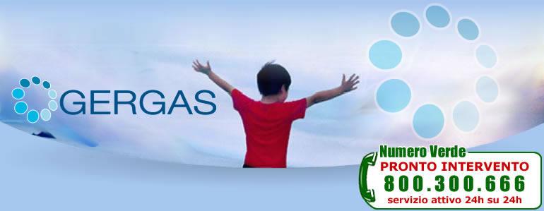 GERGAS - Numero Verde Pronto Intervento: 800 300 666